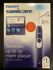 Sonicare Plaque Control Series 2 PURPLE Rechargeable Electric Toothbrush NEW