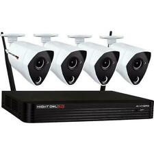 Night Owl H2T801-44P 4-Camera 4-Channel 8MP (4k) DVR Wired Video Security System