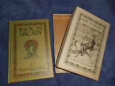 BACK to ARCADY by FRANK WALLER ALLEN 1905 Vintage With Box Vintage Antique
