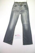 Dettagli su Jeans a zampa da donna Lee taglia 32 33 46 Felton sbiadito bootcut pantaloni