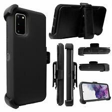 For Samsung Galaxy S20 Plus + Ultra  Hard Cover Case w/Belt Clip