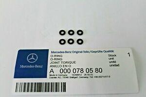 Genuine Mercedes-Benz OM642 OM651 Rubber Injector Leak-Off Seals A0000780580 X6
