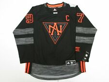 CONNOR McDAVID TEAM NORTH AMERICA BLACK 2016 WORLD CUP OF HOCKEY ADIDAS JERSEY
