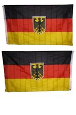 3x5 German Germany Eagle Deutschland 2ply Double Sided Polyester Flag 3'x5'