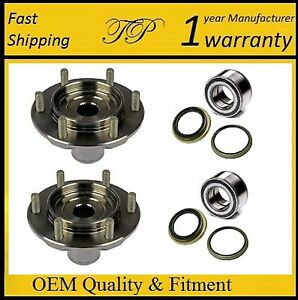Front Wheel Hub & Bearing & Seal Kit FOR 2000-2006 Toyota Tundra (4WD 4x4) PAIR