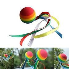 Rainbow Ball Colored Ribbon Aerial Car Antenna Topper For Truck SUV Decor Balls