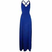Long Full Length Maxi Evening Party Cocktail Prom Dress Size 8 10 12 14 16 18 20 16 Royal Blue