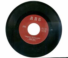 FUNK BLUES CHRISTMAS 45: JIMMY REED on RRG Christmas Present Blues/Crying Blind
