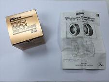Nikon TC-14A Manual Focus Teleconverter Tele Converter 1.4X TC14A