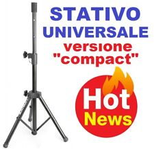 STATIVO SUPPORTO TREPPIEDE CASSE ACUSTICHE versione compact universale standard