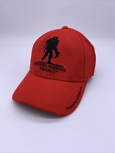UNDER ARMOUR WOUNDED WARRIOR PROJECT Snapback Hat Red Veteran Honor UA