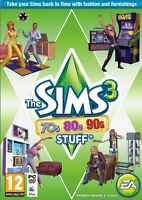 The Sims 3 70s 80s 90s Stuff Expansion for PC and MAC Brand New Sealed