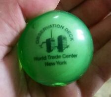 world trade center 911 ball bought inside the tower years ago collectable