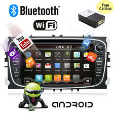 Android6.0 4Core+2G RAM Wifi GPS Navigation Für Ford Mondeo/Focus/S-max/Galaxy