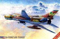SUKHOI Su-20M (SU-22) FITTER F (LIBYAN, PERUVIAN, ANGOLAN MKGS) 1/72 MISTERCRAFT