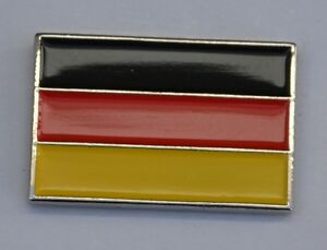 German Flag Quality Enamel Lapel Pin Badge