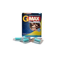 Stimulant Sexuel / Aphrodisiaque Hommes G-Max PowerCaps - 5 gélules GMAX