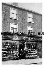 pt9698 - Doncaster , Bell Brothers Jewellers Shop - Yorkshire - photograph