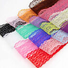 Bulk 10yards 45mm Lace Fabric Embroidered Bilateral Trim Ribbon Sewing 5Colors