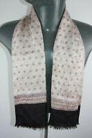 Vintage Silk Style Scarf mod dandy retro mens womens cravat foulard *877