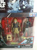 Star Wars Rogue One Rebel Commando Poe & Death Trooper Figures Hasbro 2016 Aus