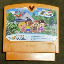 V-Tech V. SMILE VMotion Disney Little Einsteins 2009 Game Cartridge