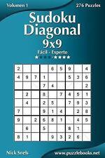 Sudoku Diagonal: Sudoku Diagonal 9x9 - de Fácil a Experto - Volumen 1 - 276...