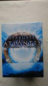 STARGATE ATLANTIS TEMPORADAS 1-4 COMPLETAS  EN DVD PARA COLECCIONISTAS