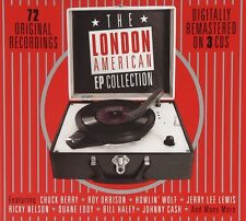The London American EP COLLECTION (Chuck Berry, Johny Cash,...) 3 CD NUOVO