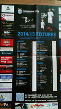 Huddersfield Town Official Fixture Poster for 2014/15 season
