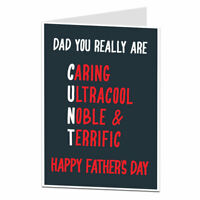 Funny Happy Fathers Day Card Rude Offensive Joke