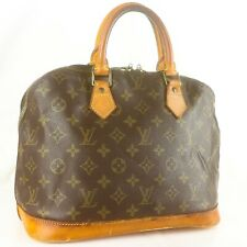 LOUIS VUITTON ALMA Hand Bag Purse Monogram M51130 Brown