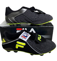 1999 FILA TORNADO II FG MADE WITH KEVLAR FOOTBALL BOOTS SOCCER MADE ITALY UK 9.5