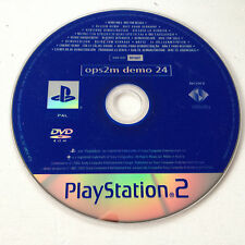 dvd Demo 24 OPS2M Playstation 2 Magazine SONY PS2 PAL FR