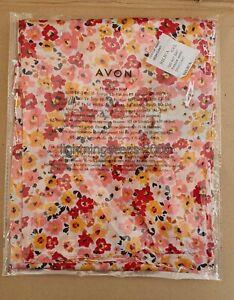 Avon Ladies Floral Satin Scarf BRAND NEW & SEALED