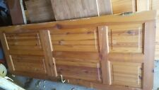 wooden doors with hinges and handle