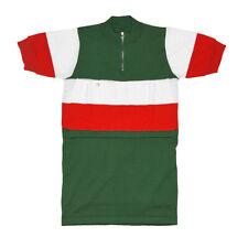 MAGLIA ITALIA AL TOUR DE FRANCE Ciclismo Vintage Bike Jersey Made in Italy