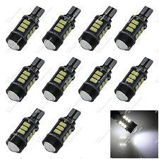 10X White T10 1252 2450 12 SMD 5630 + 3W LED Interior Light Mini Bulbs Car ZA144