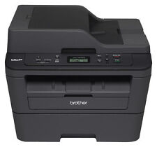Brother - DCP-L2540DW Wireless Black-and-White All-In-One Printer - Black