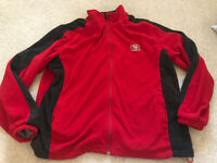 San Francisco 49ers SF Niners Quarter Zip Fleece Jacket NFL Football Mens XL