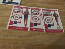 2019-20  CONTENDERS  SEASON  TICKET WIZARDS  LOT  BEAL  WALL