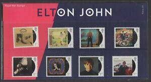 2019  Elton John + Mini Sheet Presentation Pack 575 - Ref:5617