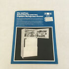 Vintage frigidaire refrigerator freezer use and care instructions owners manual photo