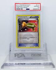 Pokemon DARK EXPLORERS POKEMON CATCHER #111 SECRET RARE HOLO PSA 10 GEM MINT #*