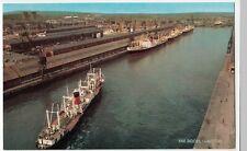 Scotland; The Docks, Glasgow PPC By Salmon, Unused, c 1960's View Of Warehouses