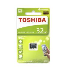 Toshiba micro SD SDHC 100MB 32GB Class 10 UHS-I M203 Full HD