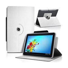 """Housse Etui Universel S couleur Blanc pour Tablette Polaroid Rainbow+ 7"""""""