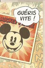 "DISNEY Mickey Mouse "" guéris vite"" carte"