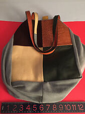 NEW Soft Swatch LARGE Bag Recycled by Carmina Campus numbered OOAK Ilaria Fendi