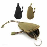 chasse edc airsoft poche military sac argent porte - clé sac de nylon tactique
